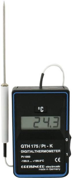 Teploměr Greisinger GTH 175/PT -K, -199,9 až +199,9 °C, 100410