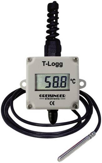Temperatur-Datenlogger Greisinger T-Logg 100 E Messgröße Temperatur -25 bis +120 °C Kalibriert nach ISO