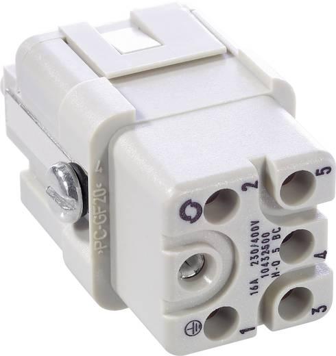 Buchseneinsatz EPIC® H-Q 5 10432500 LappKabel Gesamtpolzahl 5 + PE 10 St.