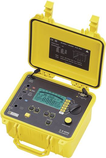 Chauvin Arnoux C.A 6545 Isolationsmessgerät 40 V, 5100 V 10 TΩ