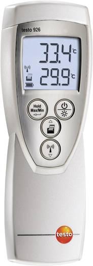 Temperatur-Messgerät testo 926, Lebensmittel-Temp.-Messgerät -50 bis +400 °C Fühler-Typ NTC, T Kalibriert nach: Werksst