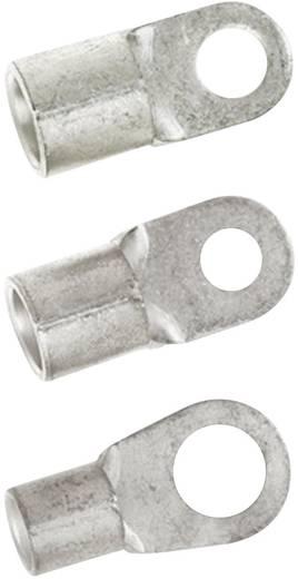 Ringkabelschuh Querschnitt (max.)=2.50 mm² Loch-Ø=6.5 mm Unisoliert Metall LappKabel 63204135 100 St.