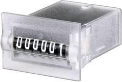 Panelový mini čítač impulsů Hengstler 634, CR0634810, 24 VDC