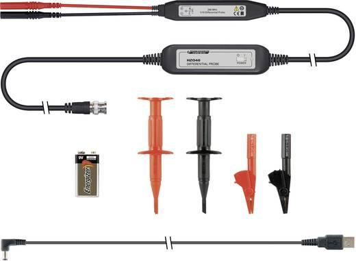 Differential-Tastkopf-Set isoliert 200 MHz Kalibriert nach ISO 10:1 60 V Rohde & Schwarz HZO40