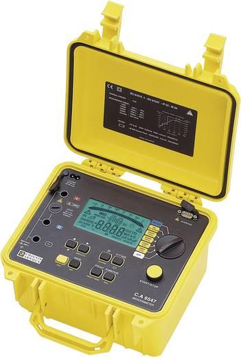 Isolationsmessgerät Chauvin Arnoux C.A 6547 40 V, 5100 V 10 TΩ Kalibriert nach Werksstandard (ohne Zertifikat)