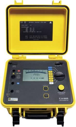 Isolationsmessgerät Chauvin Arnoux C.A 6505 40 V, 5100 V 10 TΩ Kalibriert nach Werksstandard (ohne Zertifikat)