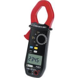Digitálne/y prúdové kliešte, ručný multimeter Chauvin Arnoux F201 P01120921-ISO, Kalibrované podľa (ISO)