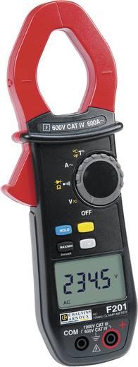 Stromzange, Hand-Multimeter digital Chauvin Arnoux F201 Kalibriert nach: ISO CAT III 1000 V, CAT IV 600 V Anzeige (Coun