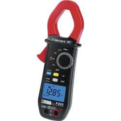 Digitálne/y prúdové kliešte, ručný multimeter Chauvin Arnoux F203 P01120923-ISO, Kalibrované podľa (ISO)