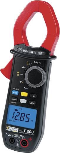 Stromzange, Hand-Multimeter digital Chauvin Arnoux F203 Kalibriert nach: DAkkS CAT III 1000 V, CAT IV 600 V Anzeige (Co