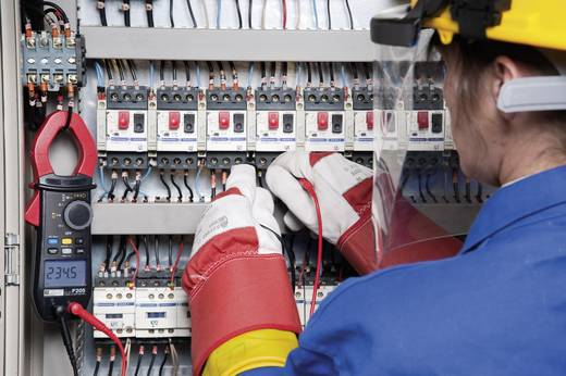 Chauvin Arnoux F205 Stromzange, Hand-Multimeter digital Kalibriert nach: DAkkS CAT III 1000 V, CAT IV 600 V Anzeige (Co