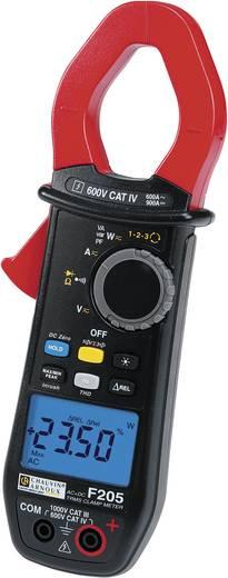 Chauvin Arnoux F205 Stromzange, Hand-Multimeter digital Kalibriert nach: ISO CAT III 1000 V, CAT IV 600 V Anzeige (Coun