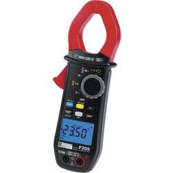 Digitálne/y prúdové kliešte, ručný multimeter Chauvin Arnoux F205 P01120925, kalibrácia podľa (ISO)