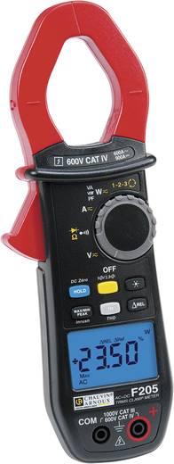 Stromzange, Hand-Multimeter digital Chauvin Arnoux F205 Kalibriert nach: Werksstandard (ohne Zertifikat) CAT III 1000 V