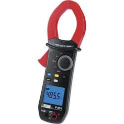 Digitálne/y prúdové kliešte, ručný multimeter Chauvin Arnoux F401 P01120941-ISO, Kalibrované podľa (ISO)