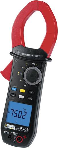 Chauvin Arnoux F403 Stromzange, Hand-Multimeter digital CAT IV 1000 V Anzeige (Counts): 10000
