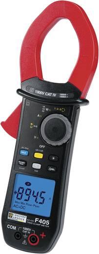 Stromzange, Hand-Multimeter digital Chauvin Arnoux F405 Kalibriert nach: ISO CAT IV 1000 V Anzeige (Counts): 10000