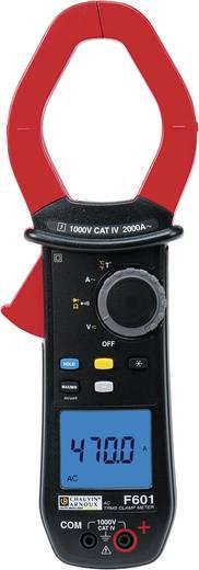 Chauvin Arnoux F601 Stromzange, Hand-Multimeter digital Kalibriert nach: ISO CAT IV 1000 V Anzeige (Counts): 10000