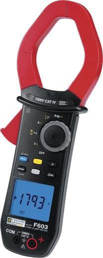 Stromzange, Hand-Multimeter digital Chauvin Arnoux F603 Kalibriert nach: DAkkS CAT IV 1000 V Anzeige (Counts): 10000