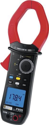 Stromzange, Hand-Multimeter digital Chauvin Arnoux F605 Kalibriert nach: DAkkS CAT IV 1000 V Anzeige (Counts): 10000