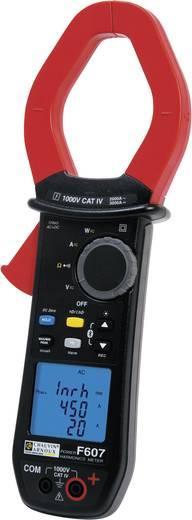 Chauvin Arnoux F607 Stromzange digital Kalibriert nach: Werksstandard (ohne Zertifikat) CAT IV 1000 V Anzeige (Counts):