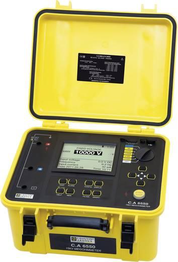 Isolationsmessgerät Chauvin Arnoux C.A 6550 40 V, 10000 V 25 TΩ Kalibriert nach Werksstandard (ohne Zertifikat)