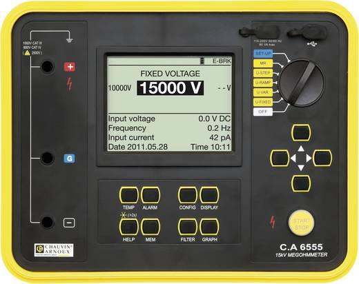 Chauvin Arnoux C.A 6555 Isolationsmessgerät 40 V, 15000 V 30 TΩ