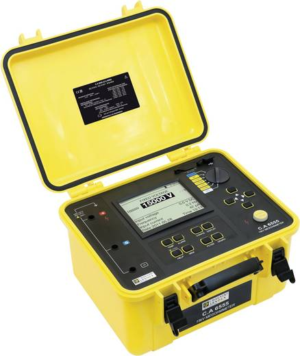 Isolationsmessgerät Chauvin Arnoux C.A 6555 40 V, 15000 V 30 TΩ Kalibriert nach Werksstandard (ohne Zertifikat)