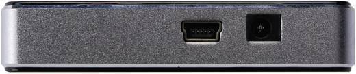 4 Port USB 2.0-Hub Digitus DA-70220 Schwarz/Silber