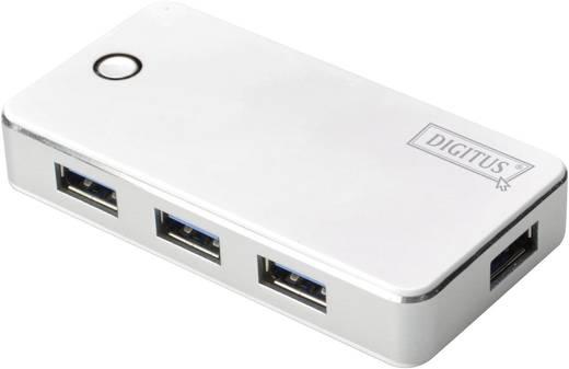4 Port USB 3.0-Hub Digitus DA-70232 Weiß