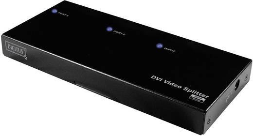 2 Port DVI-Splitter Digitus DS-41211 1920 x 1200 Pixel Schwarz