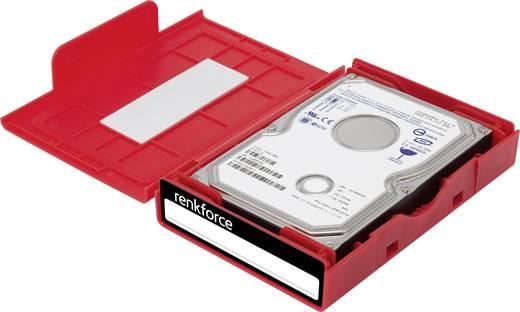 Universal Festplatten-Aufbewahrungsbox Renkforce HY-EB-8500 Rot