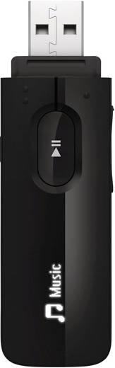 MP3-Player Philips Gogear Mix 4 GB Schwarz Befestigungsclip, Sprachaufnahme