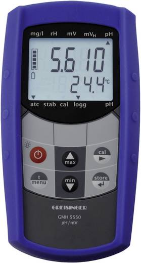 Kombi-Messgerät Greisinger GMH 5550 pH-Wert, Redox (ORP) 2.00 - 16.00 pH Kalibriert nach Werksstandard (ohne Zertifikat)