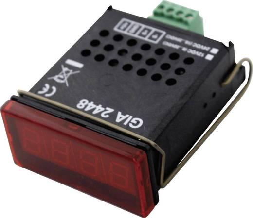 Digitales Einbaumessgerät Greisinger GIA 2448 Digitale Normsignal-Einbauanzeige GIA 2448 0 - 20 V/0 - 10 V/0 - 2 V/0 - 1