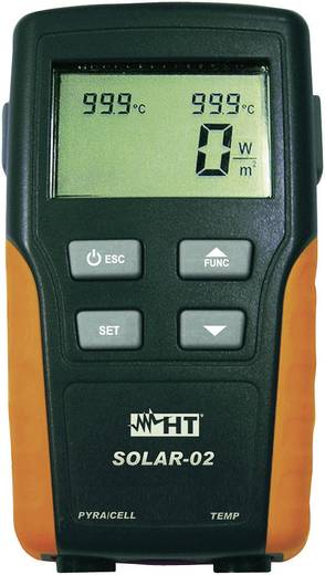 HT Instruments SOLAR-02 Multi-Datenlogger Messgröße Temperatur, Einstrahlungsleistung -20 bis 99.9 °C Kalibriert