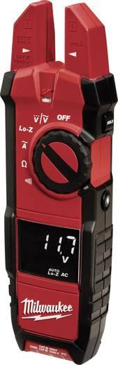Stromzange, Hand-Multimeter digital Milwaukee 2205-40 Kalibriert nach: Werksstandard CAT III 1000 V, CAT IV 600 V Anzei