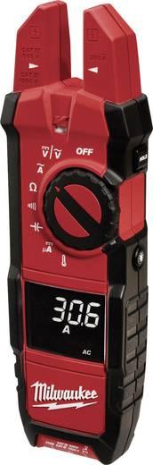 Stromzange, Hand-Multimeter digital Milwaukee 2206-40 Kalibriert nach: Werksstandard CAT III 1000 V, CAT IV 600 V Anzei