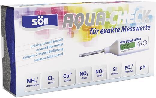 Söll Messgerät AQUA-CHECK digitales Photometer zur Bestimmung von Ammonium, Nitrat, Nitrit, Chlor, Silizium, Kupfer, Phosphat und pH-Wert.