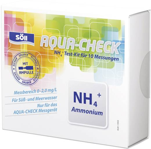 Reagenz Söll Ammonium-Test 10 Tests für Photometer AQUA-CHECK