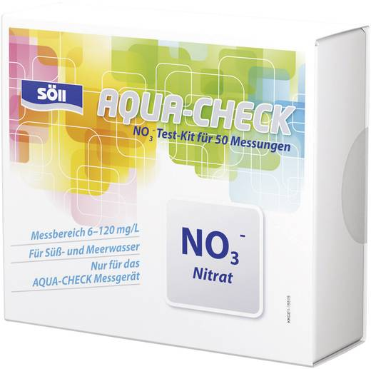 Söll Nitrat-Test 50 Tests für Photometer AQUA-CHECK
