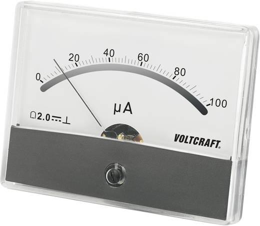 VOLTCRAFT AM-86X65/100µA Einbau-Messgerät AM-86X65/100µA/DC