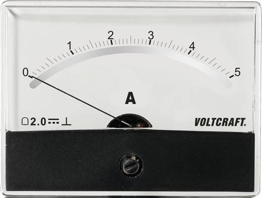 VOLTCRAFT AM-86X65/5 A/DC Einbau-Messgerät AM-86X65/5A/DC 5 A Drehspule