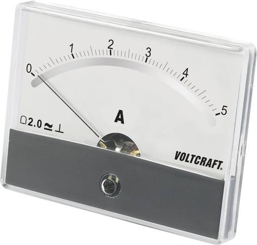 Analoges Einbaumessgerät VOLTCRAFT AM-86X65/5A/DC