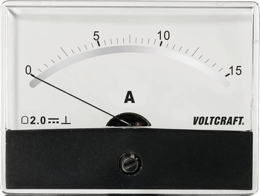 Analoges Einbaumessgerät VOLTCRAFT AM-86X65/15A/DC