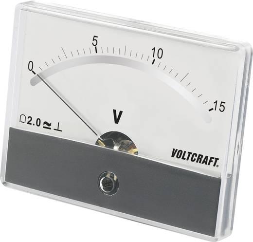 VOLTCRAFT AM-86X65/15A/DC Einbau-Messgerät AM-86X65/15A/DC