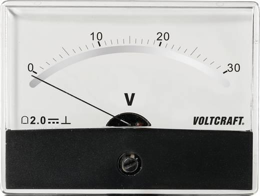 Analoges Einbaumessgerät VOLTCRAFT AM-86X65/30V/DC