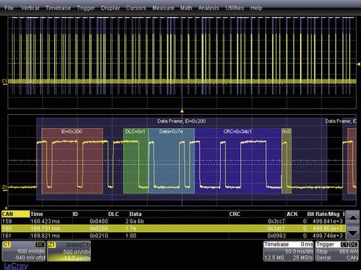 LeCroy WSXS-FLEXRAYBUS TD WSXS-FLEXRAYBUS TD Trigger und Decoder-Erweiterung, Passend für (Details) LeCroy Oszilloskope