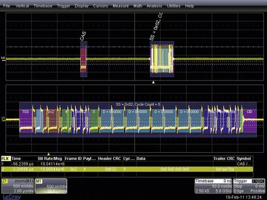 LeCroy WSXS-EMB WSXS-EMB Embedded System Trigger und Decoder-Erweiterung, Passend für LeCroy Oszilloskope WaveSurfer®. WSXS-EMB