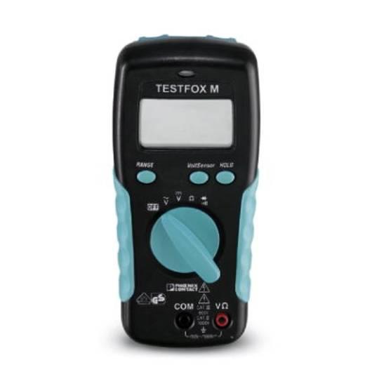 Hand-Multimeter digital Phoenix Contact TESTFOX M Kalibriert nach: Werksstandard CAT II 1000 V, CAT III 600 V Anzeige (Counts): 2000